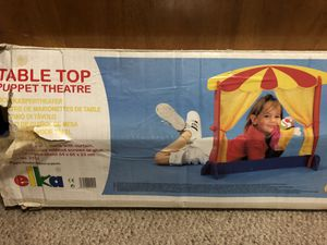 Table Top Puppet Theater for Sale in South Miami, FL