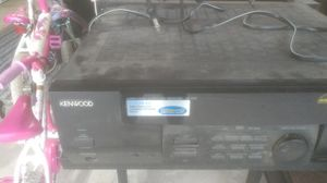 Stereo receiver Kenwood for Sale in Visalia, CA