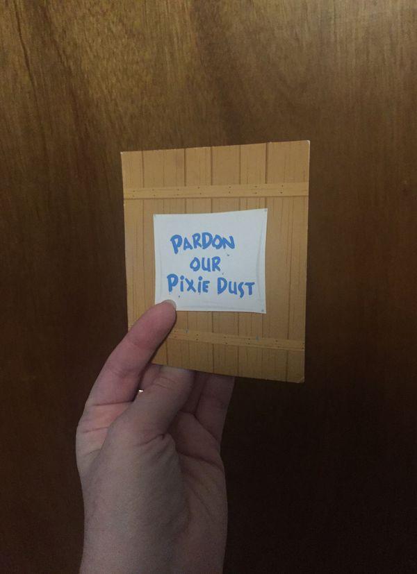 """Disney """"Pardon Our Pixie Dust"""" Pin Set of 3"""