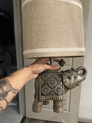 Elephant lamp for Sale in San Antonio, TX
