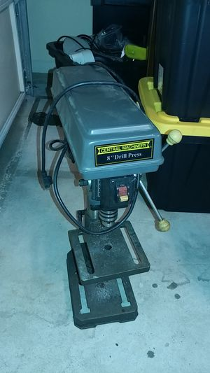"""Harbor Freight 8"""" drill press for Sale in Flowery Branch, GA"""