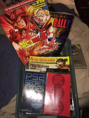 Retro GMR magazines (2000,& early 2000s), dragon ball Z, yugioh, Beckett sports&Topps magazines/Strategy guides,PS1 mags for Sale in Lancaster, OH