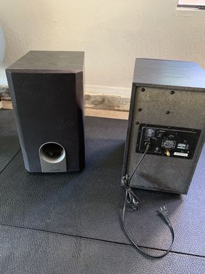 Onkyo powdered subs for Sale in Chandler, AZ