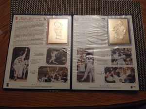 Danbury mint gold baseball cards for Sale in Kenmore, WA