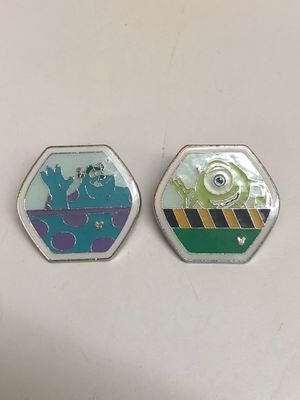 Pixar's Monsters INC (Disney Trading Pins) from HONG KONG DISNEYLAND for Sale in Davenport, FL