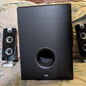 Cyber Acoustics 2.1 Computer Speakers for Sale in Virginia Beach, VA