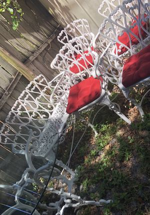 Cast iron patio furniture for Sale in Clearwater, FL