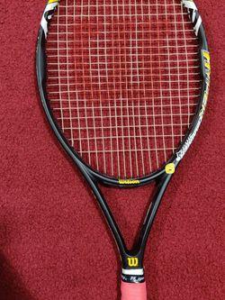 Wilson Hyper Hammer 6 Tennis Racket like new for Sale in Tukwila,  WA