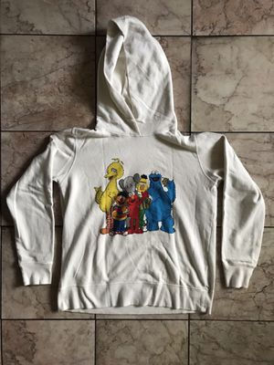 100% Authentic KAWS x Sesame Street for Uniqlo Hooded Sweatshirt for Sale in Alameda, CA
