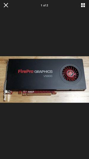 ATI AMD FirePro v. 5900 graphics card in pristine shape !!! for Sale in Leesburg, VA