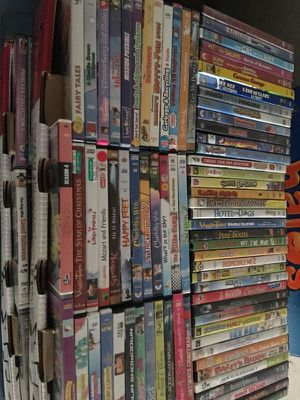 150 kids childrens family DVD's movies lot for Sale in Lodi, CA