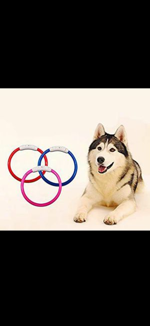 Flashing Dog Collar- USB Rechargeable for Sale in Deerfield Beach, FL