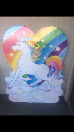 Unicorn birthday board for Sale in Phoenix, AZ