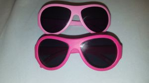 Babiator Sunglasses - 0-2 years old. 2 pairs, light and dark pink for Sale in Tacoma, WA