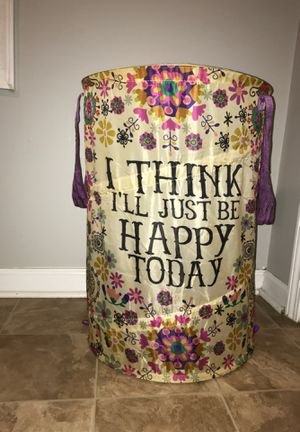 Natural Life Collapsible Hamper for Sale in New Albany, MS