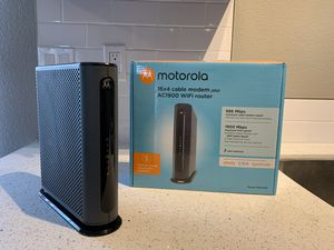 Motorola Modem+Router for Sale in San Diego, CA