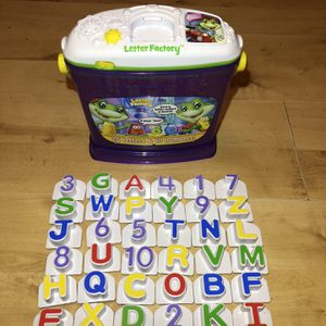 Leap Frog Letter Factory Replacement Letters for Sale in Glocester, RI