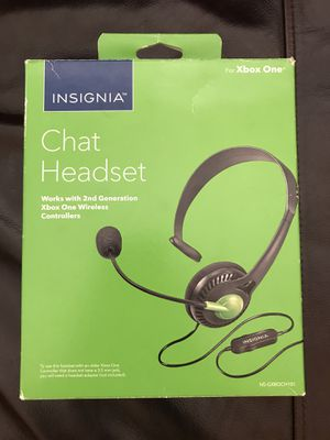 Xbox One Headset (Practically Brand New) for Sale in Irving, TX