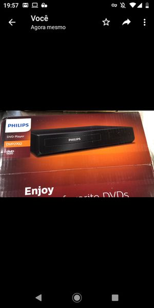 Philips DVP2702/F7 DVD Player, CD / DVD with Dolby Audio and Enhanced Accessibility for Sale in Pompano Beach, FL