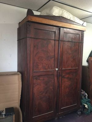 Antique mahogany Armoir - $650 for Sale in Chevy Chase, DC