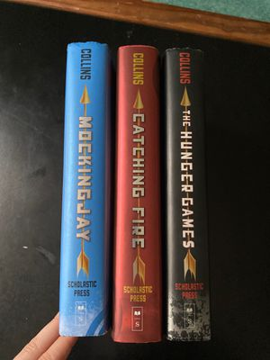 Suzanne Collins Hunger Games Trilogy Hardcover for Sale in Ithaca, NY