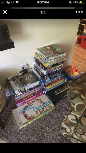 All kids of games puzzle for Sale in Irving, TX