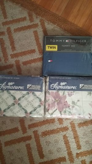 Two sets of twin sheets for Sale in Tonawanda, NY
