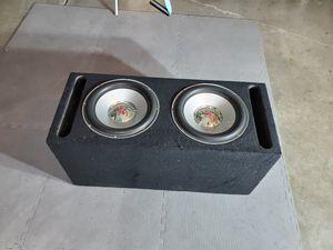 "12"" rockford fosgate subs & Dual amplifier for Sale in Mesa, AZ"