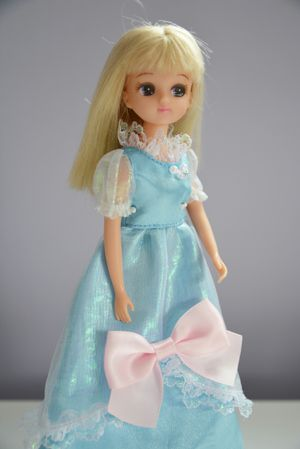 Takara Tomy Licca Japan Barbie Blonde Blue Dress for Sale in River Forest, IL