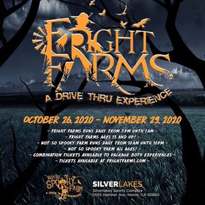 Fright farms tickets for Sale in Norco, CA