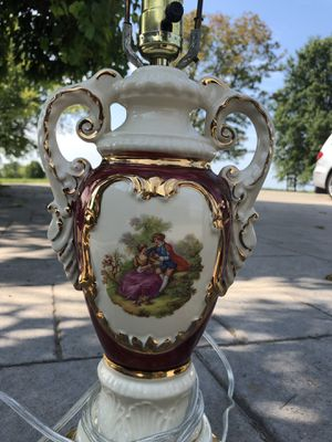 Antique Hand painted lamps for Sale in Millstadt, IL
