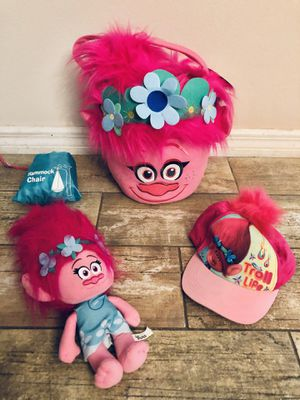 Trolls Bundle - Poppy Princess - Halloween for Sale in Leesburg, FL