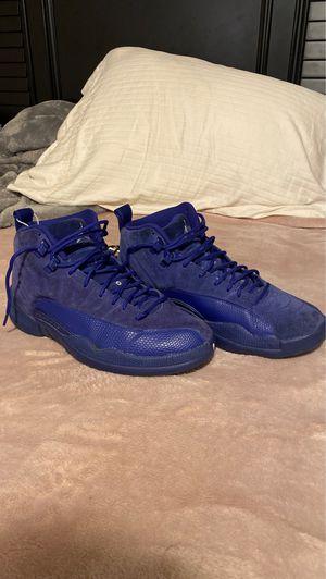 jordan's 12 deep blue for Sale in Arlington, TX
