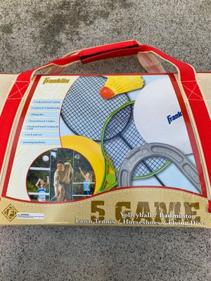 Outdoor 5 game set for Sale in Tracy, CA
