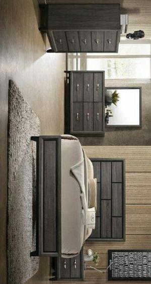 Rocklin Queen Panel Bedroom Set |ask king size bedroom set | juego de dormitorio for Sale in Killeen, TX