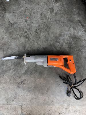 Reciprocating Saw Chicago Electric Power Tools for Sale in Kent, WA