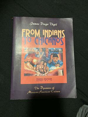 From Indians to Chicanos Book for Sale in Santa Clarita, CA