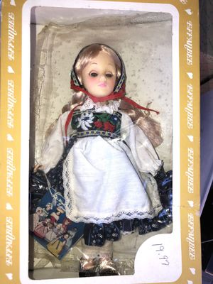 Vintage Effanbee Doll 1191 Heidi Collectible Antique for Sale in Rock Hill, SC