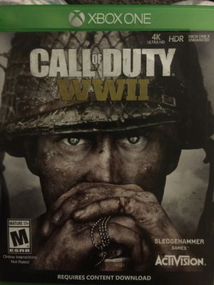 Like new call of duty wwii for Sale in Irwindale, CA