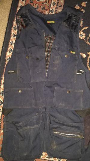 Blackladder navy kangaroo mesh utility vest for Sale in Los Angeles, CA