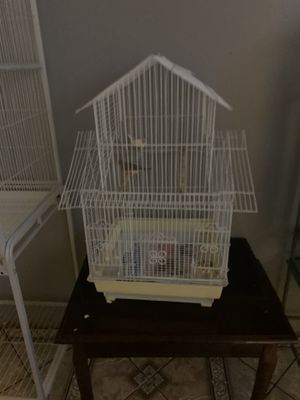 Cage 30 birds 30 for both for Sale in Long Beach, CA