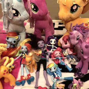 Lot Of 30 My Little Pony Dolls, Stuffed Animals & Funko Pops for Sale in Gilbert, AZ