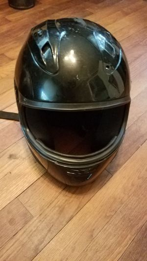Vortex Black Full Face Motorcycle Helmet - Good Condition for Sale in West Columbia, SC