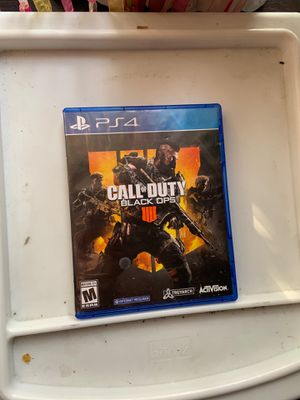 Call of duty black ops 4 for Sale in Oakland, CA