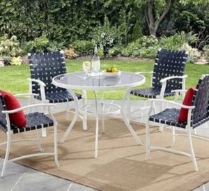 New!! Outdoor dining chair, patio furniture, patio dining chair, conversation patio set , table is not included, set of 4, for Sale in Phoenix, AZ