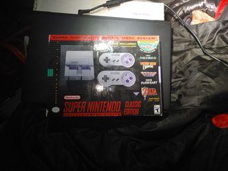 Super Nintendo Classic Edition for Sale in Seattle,  WA
