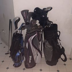 Golf Clubs And Bags $80 Obo for Sale in Plainfield,  IN