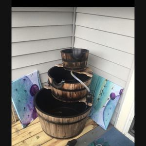 3 Tier Barrel Fountain for Sale in Virginia Beach, VA