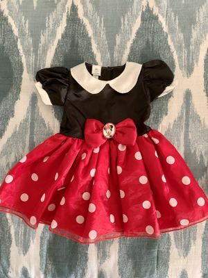 Baby girl Minnie Mouse Halloween costume for Sale in Coral Springs, FL