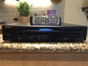 Onkyo 6 Disc CD Player w/Remote for Sale in Atascocita, TX